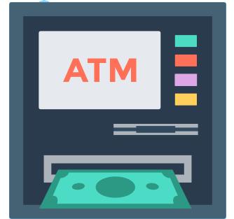 付款方式 ATM 自動櫃員機